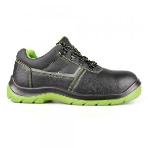 basic low cut safety shoes with steel toecap and steel midsole(SN6069)