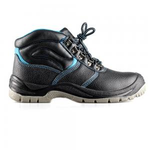 basic middle cut safety shoes with steel toecap and steel midsole(SN5631)