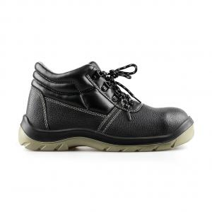 basic middle cut safety shoes with steel toecap and steel midsole(SN5732)