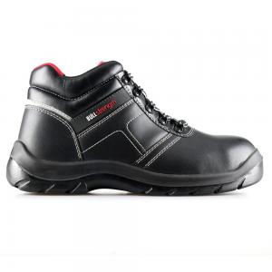 basic middle cut safety shoes with steel toecap and steel midsole(SN5733)