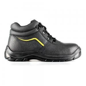 basic middle cut safety shoes with steel toecap and steel midsole(SN5759)