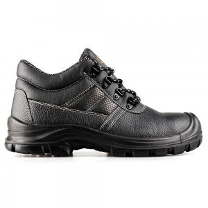 basic middle cut safety shoes with steel toecap and steel midsole(SN5808)