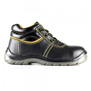 basic middle cut safety shoes with steel toecap and steel midsole(SN5810)