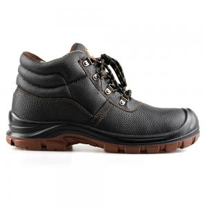 basic middle cut safety shoes with steel toecap and steel midsole(SN5811)