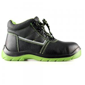 basic middle cut safety shoes with steel toecap and steel midsole(SN6070)