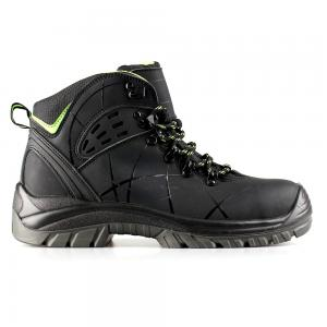 middle cut action nubuck upper safety shoes with comppsite toecap and Kevlar midsole (SN5798)