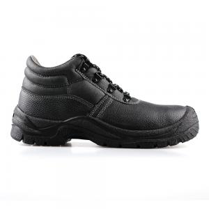 basic middle cut safety shoes with steel toecap and steel midsole(SN1630)