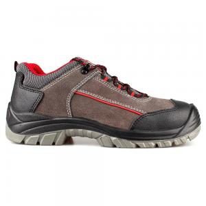 low cut cow suede leather upper safety shoes with steel toecap and steel midsole (SN5854)