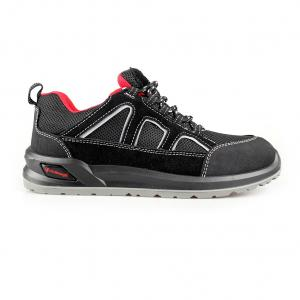 Mesh+Suede Leather Mesh Upper Men Safety Shoes & Footwear Lightweight Logstic/Construction Footwear Sn5989