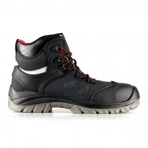 middle cut action nubuck upper safety shoes with comppsite toecap and Kevlar midsole (SN5712)