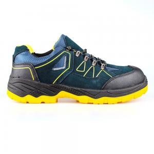 low cut cow suede leather upper safety shoes with steel toecap and steel midsole (SN5639)