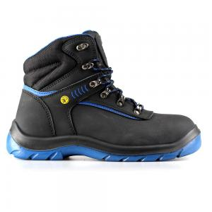 middle cut action nubuck upper safety shoes with steel toecap and steel midsole (SN6058)