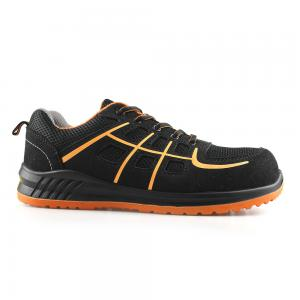 New Style Mesh+Suede Leather Mesh Upper Men Safety Shoes & Footwear Lightweight Logstic/Construction Footwear Sn6115