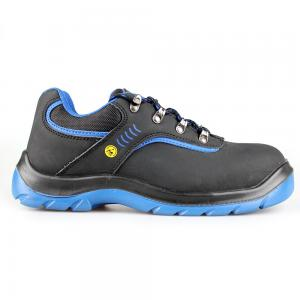 low cut action nubuck upper safety shoes with steel toecap and steel midsole (SN6059)