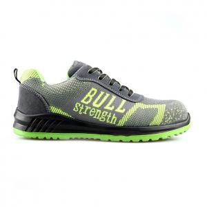 Flyknit Breathable Casual Safety Shoes with PU/PU Sole/Work Shoes Sn6006