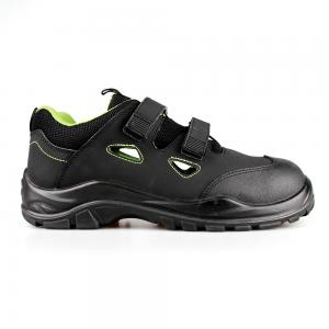 Black Nubuck Leather Sports Work Shoes Sandal Safety Shoes/Safety Footwear Sn6062