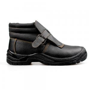 welding safety shoes with steel toecap and steel midsole (P2101)