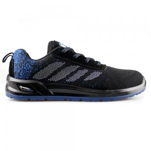 Flyknit Safety Shoes with PU/PU Sole Safety Shoes/Work Shoes Sn5920