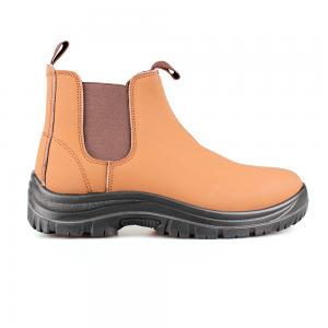 middle cut action nubuck upper safety shoes with steel toecap and steel midsole (SN5942)